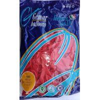 """Воздушные шары GEMAR A80 8""""/21 см пастель (красный)"""