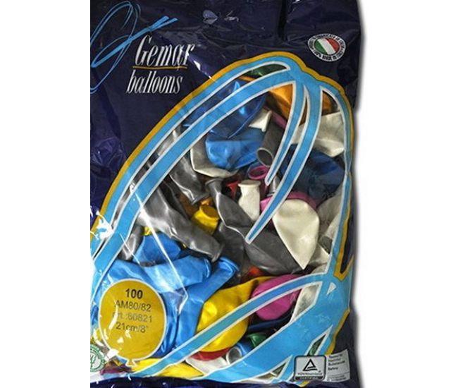 """Воздушные шары GEMAR Am80 8""""/21 см металлик - Издательство Gemar Balloons - ISBN 1350006"""