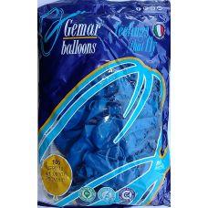 """Воздушные шары GEMAR G90 10""""/26 см пастель (синий)"""