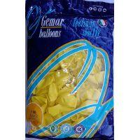 """Воздушные шары GEMAR G90 10""""/26 см пастель (желтый)"""