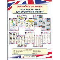 Комплект плакатов по английскому языку для оформления кабинета