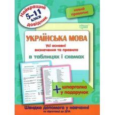 Лучший справочник Торсинг Украинский язык в таблицах и схемах 5-11 классы - Издательство Торсинг - ISBN 9789669397355