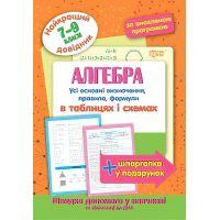 Лучший справочник Торсинг Алгебра в таблицах и схемах 7-9 классы