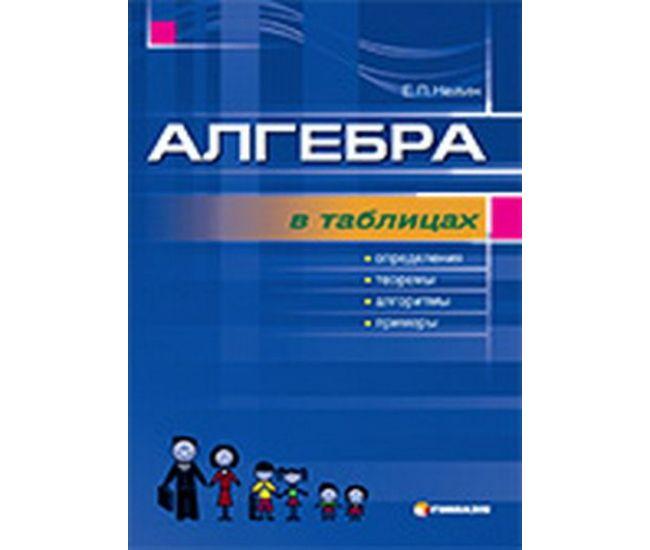 Алгебра в таблицах - Издательство Гимназия - ISBN 1190007