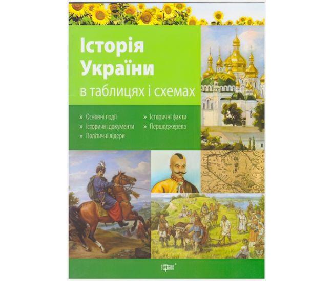 Таблицы и схемы История Украины 10-11 класс - Издательство Торсинг - ISBN 9789669392534
