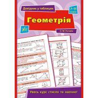 Справочник в таблицах. Геометрия 7-11 класс