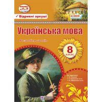 Разработки уроков Пiдручники i посiбники Украинский язык 8 класс